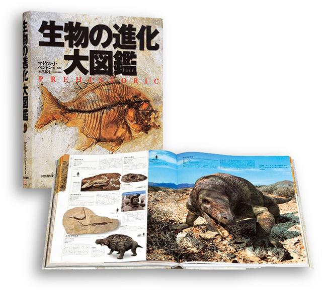 3000点以上の図番、大迫力のヴィジュアル図鑑! 『生物の進化 大図鑑』